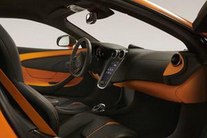McLaren 570S leaked