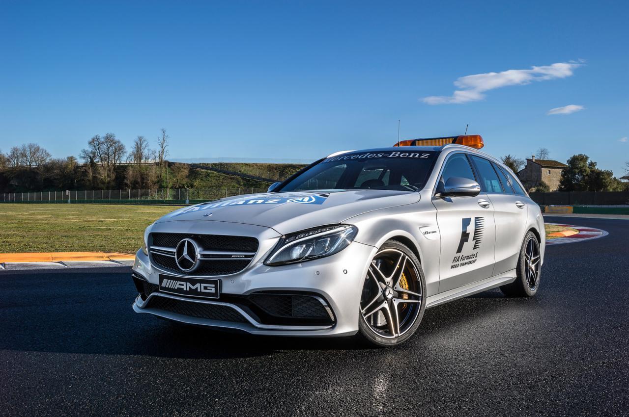 Mercedes C63 AMG F1