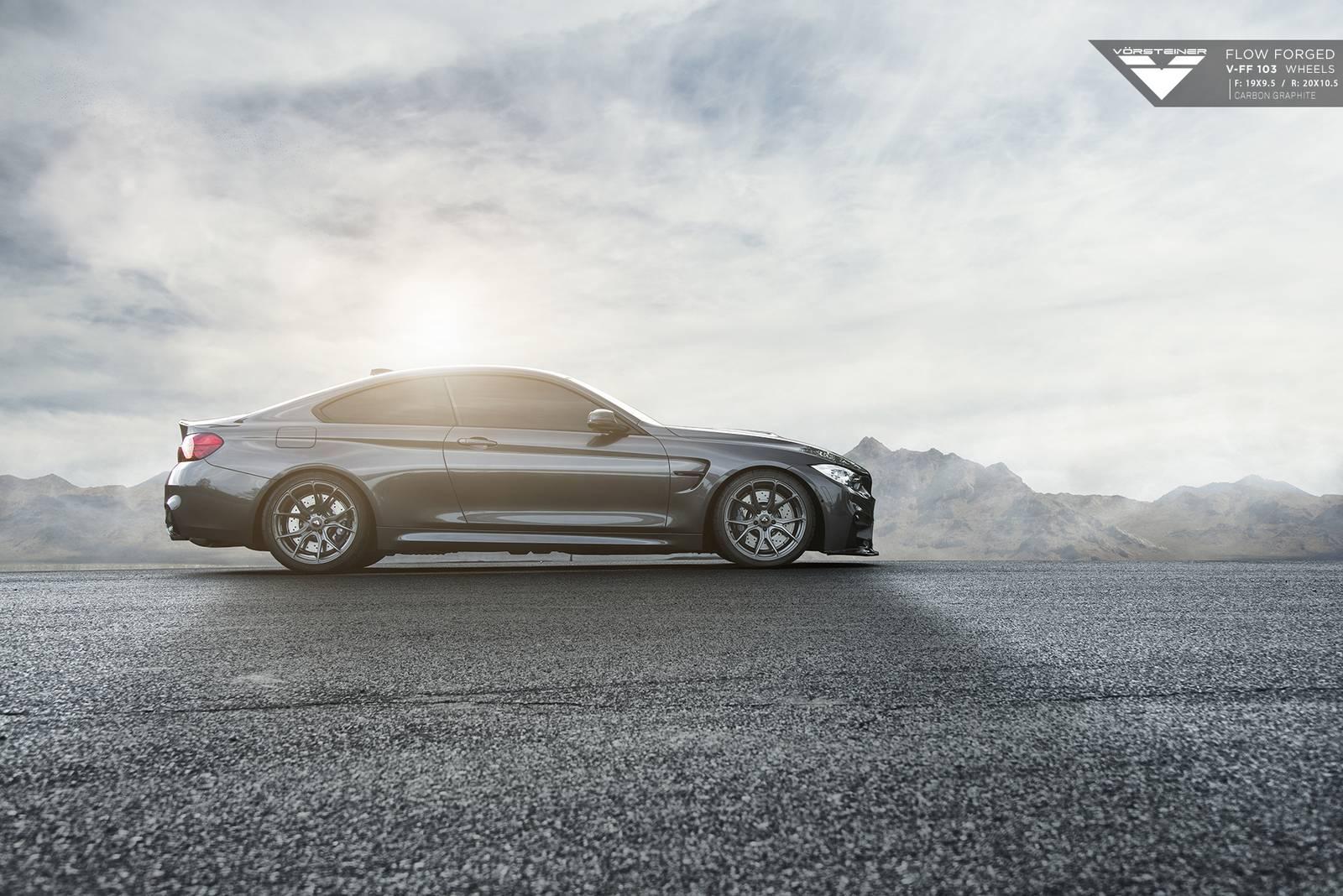 Vorsteiner BMW M4 Mineral Grey