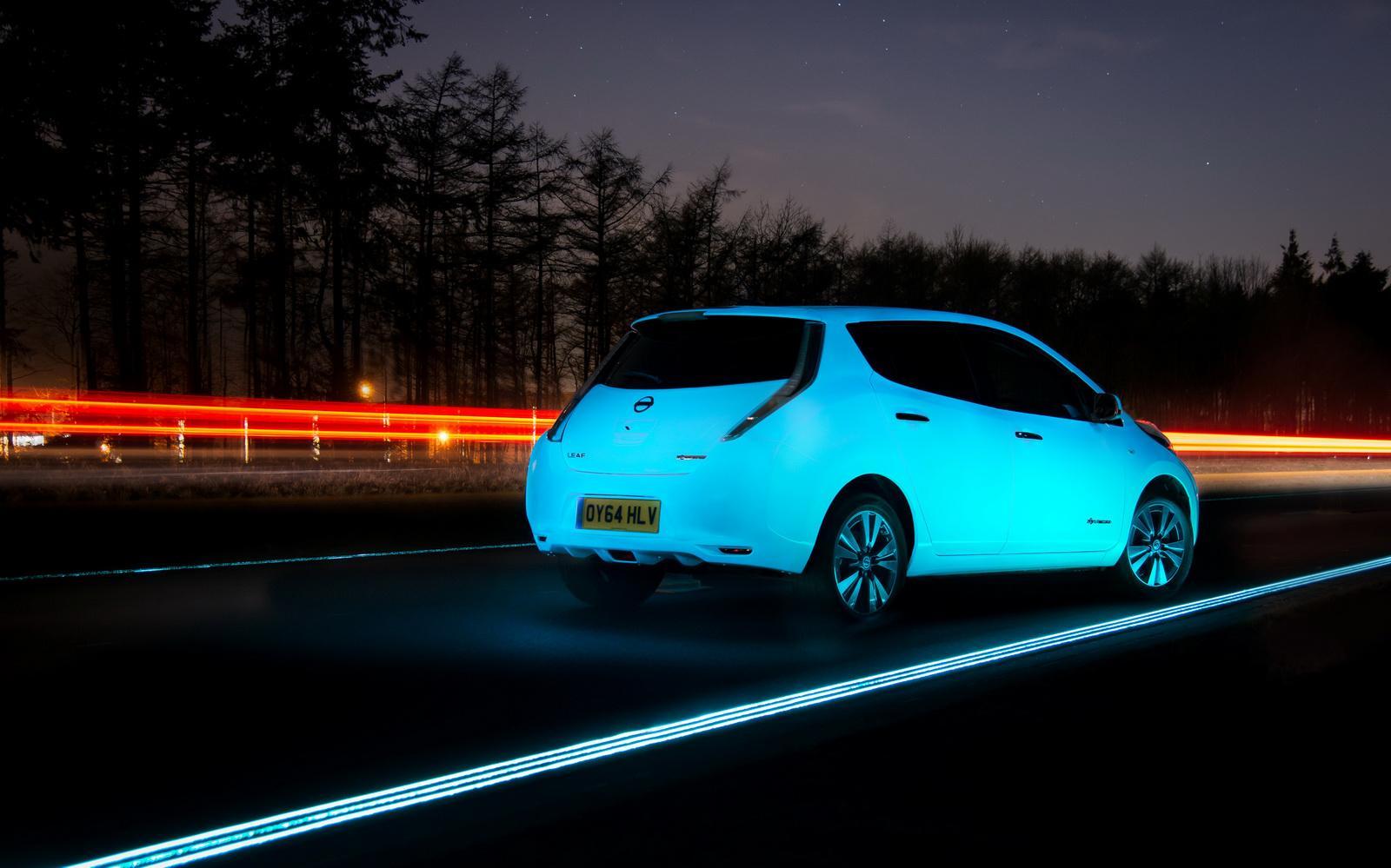 Nissan Leaf Glow In The Dark
