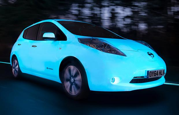 Nissan Leaf Glow In The Dark