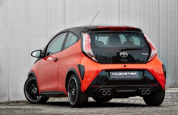 Toyota Aygo Muskieter