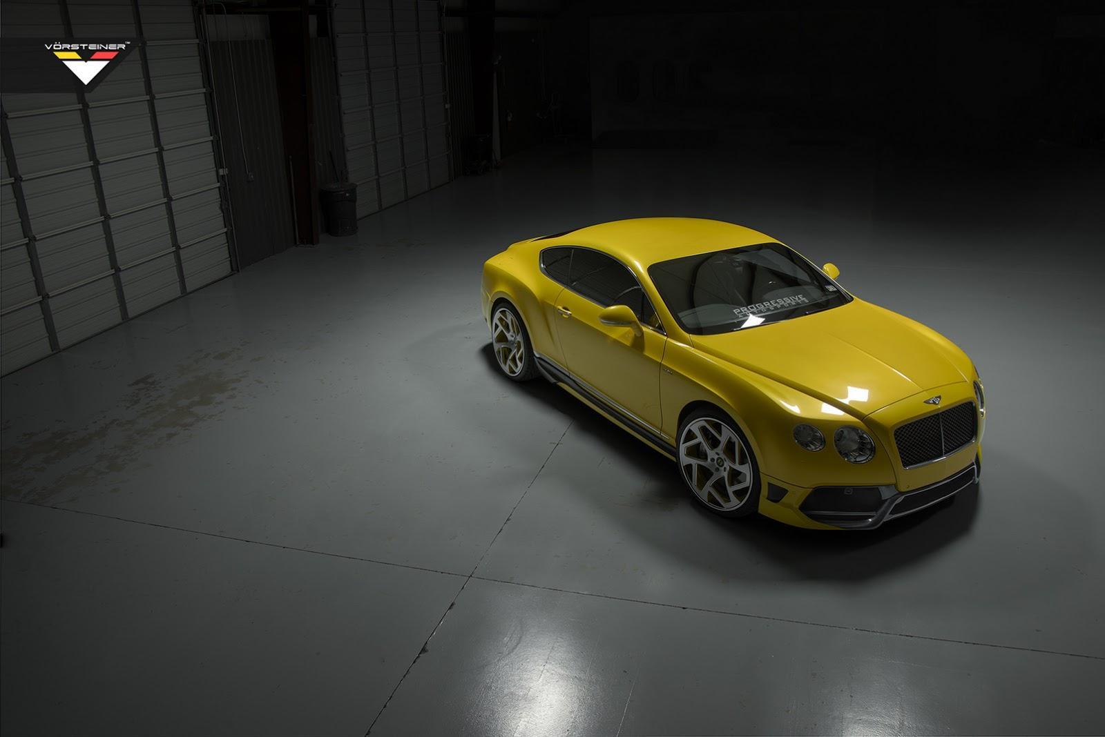 Vorsteiner BR10RS Bentley Continental GT
