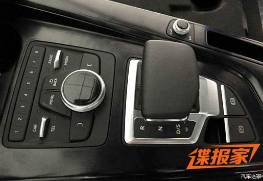 Audi A4 2016 First photo