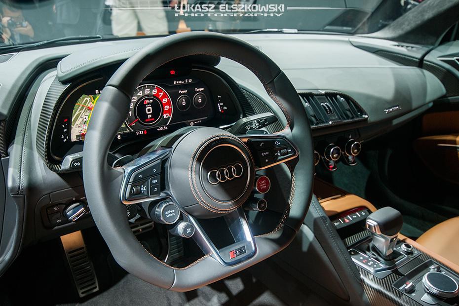 Audi R8 Genewa 2015