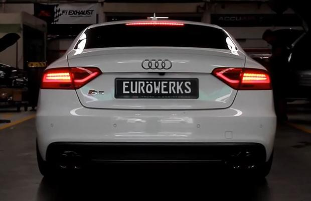 audi s5 frequency intelligent