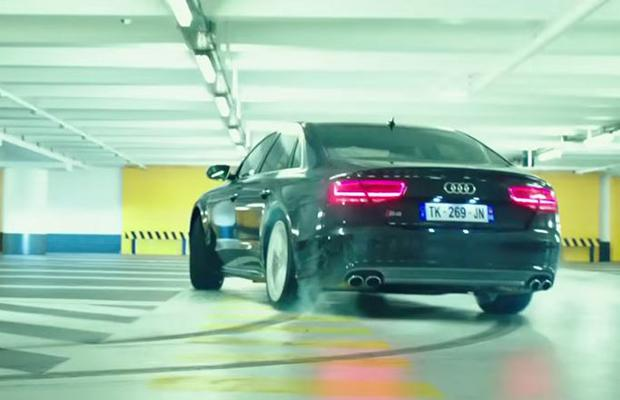audi s8 transporter refueled
