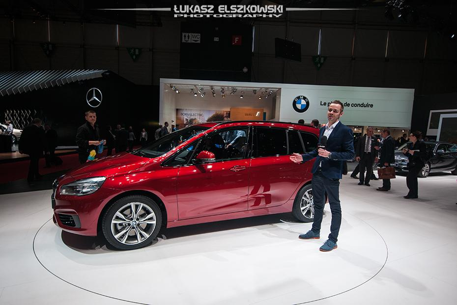 BMW 2 Gran Tourer Genewa 2015
