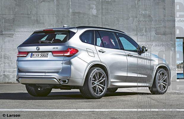 BMW X5 render auto bild