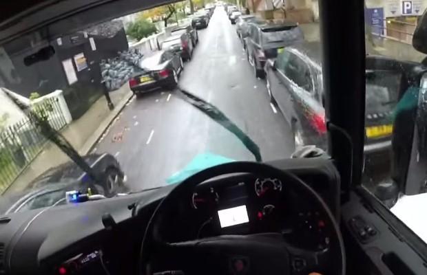 Ciężarówka w Londynie
