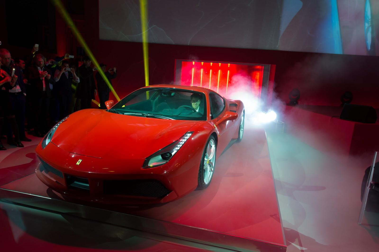 Ferrari 488 GTB Genewa 2015