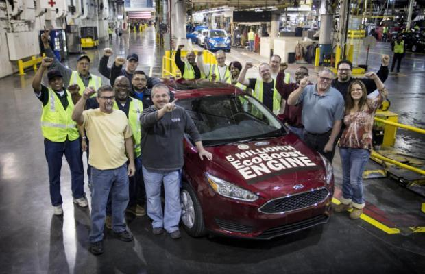 New Ford Focus production