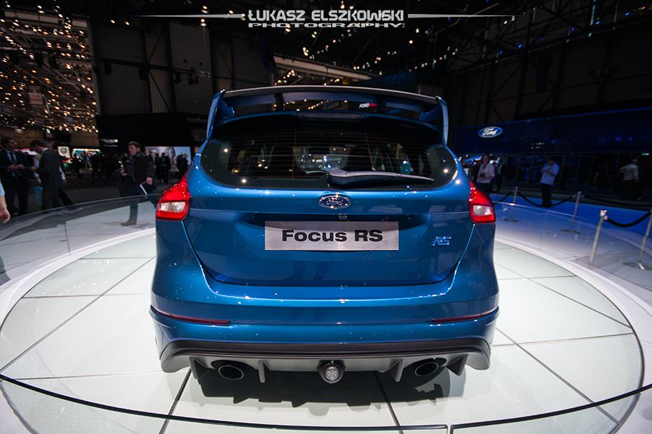 Ford Focus RS Genewa 2015