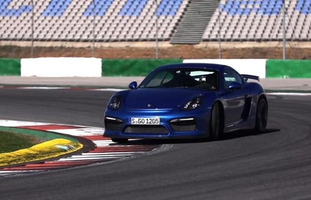 Porsche Cayman GT4 Chris Harris