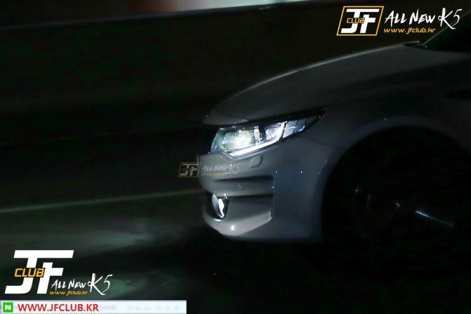 Kia Optima 2016 spyshot