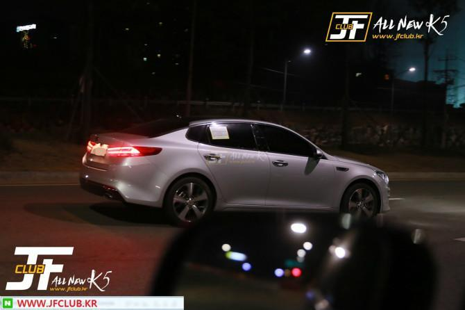 Kia Optima 2016 spyshot