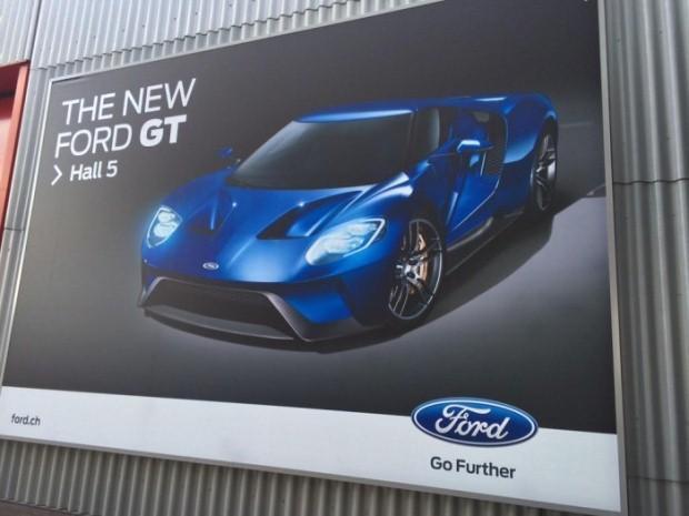 New Ford GT billboard