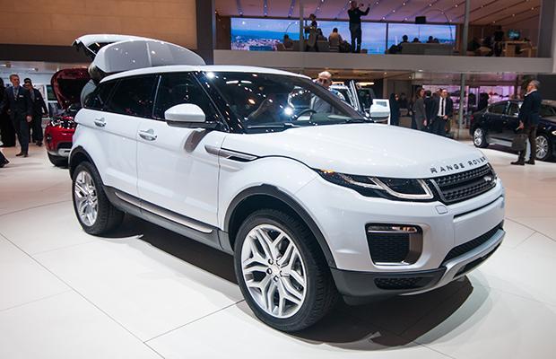 Range Rover Evoque Genewa 2015