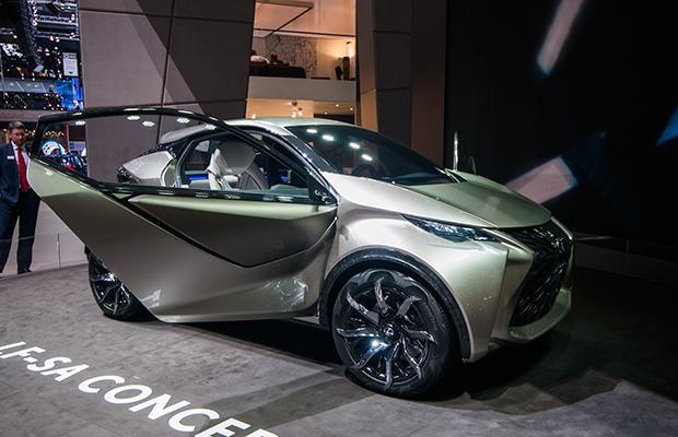 Lexus LF-SA Concept Genewa 2015