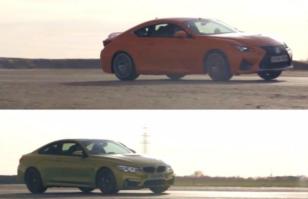 Lexus RC F vs BMW M4