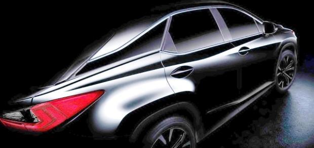 Lexus RX 2016 teaser