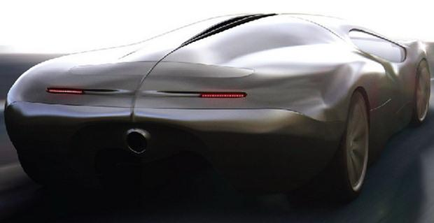 Lyons Motor Car LM2 Streamliner