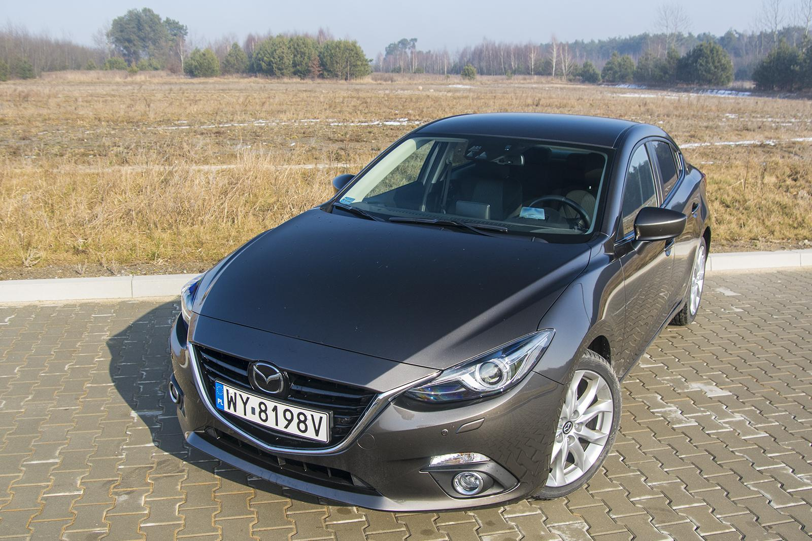 mazda 3 sedan a t test. Black Bedroom Furniture Sets. Home Design Ideas