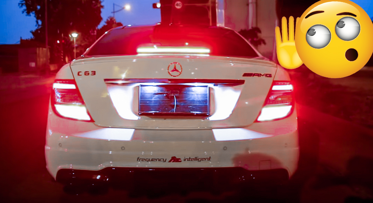 Mercedes C63 AMG Coupe C204 Frequency Intelligent