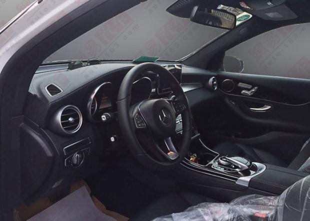 Mercedes GLC spy