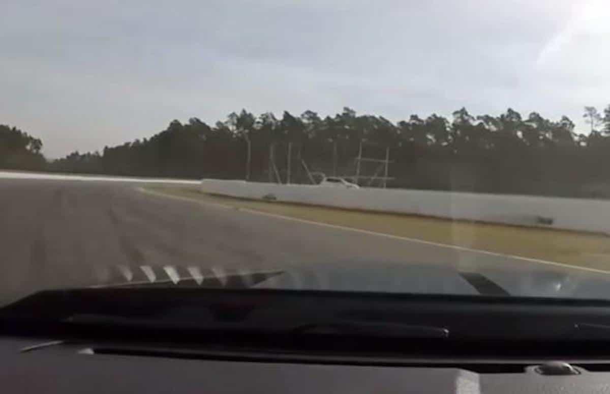Mustang Shelby GT500 na torze Hockenheim