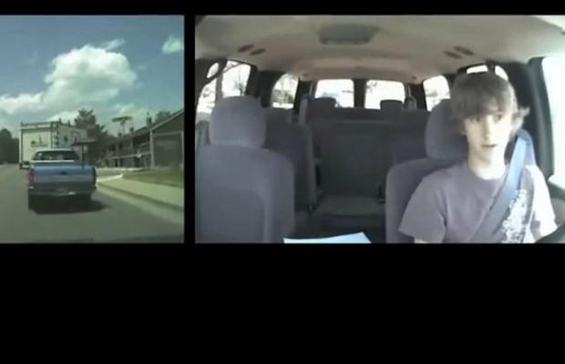 Nastolatek za kierownicą