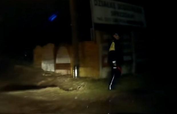 Nocna kontrola prędkości