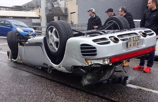 porsche 959 wypadek genewa