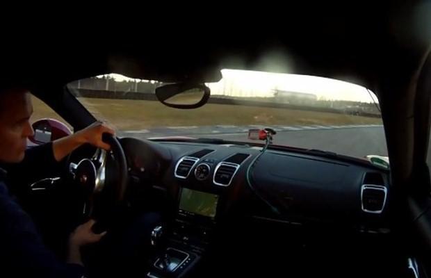Porsche Cayman GTS onboard
