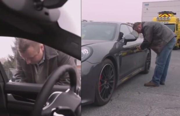 Kradzież Porsche Panamera
