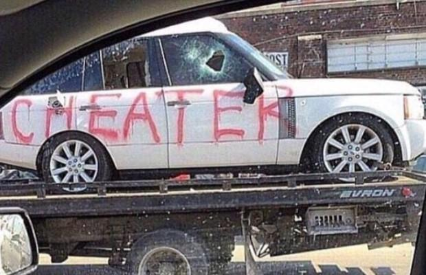 "Range Rover ""cheater"""