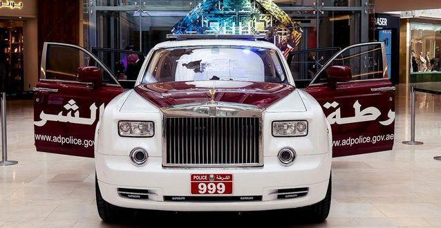 Rolls Royce Phantom Policja Abu Dhabi