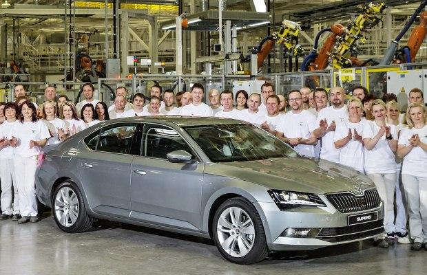 Skoda Superb production