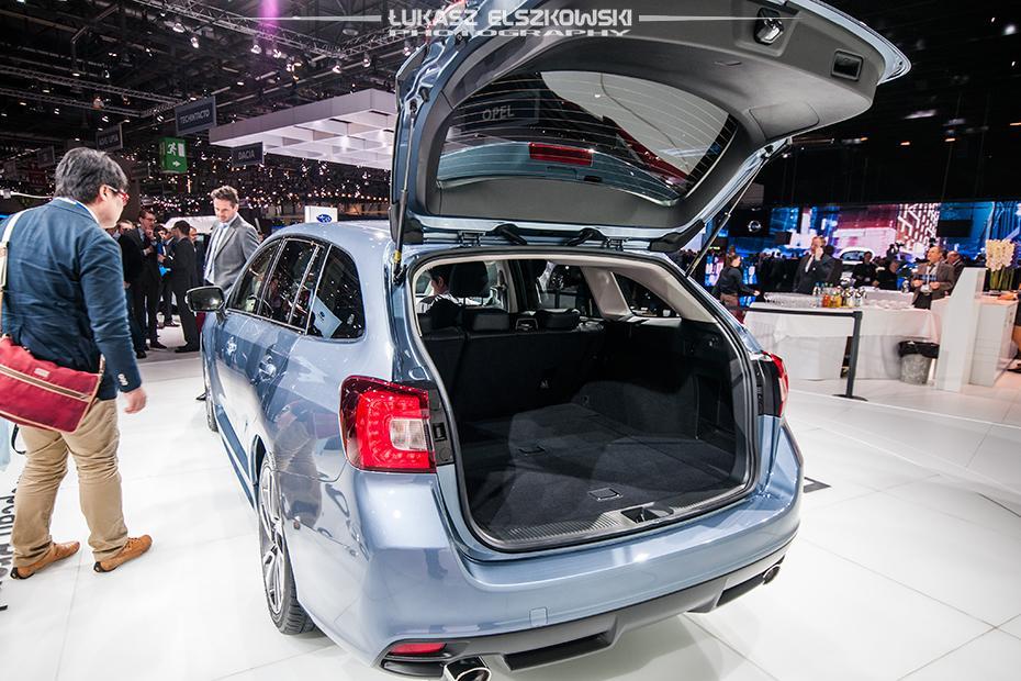 Subaru Levorg Genewa 2015