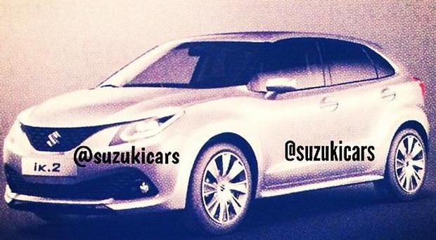 Suzuki IK-2 leaked