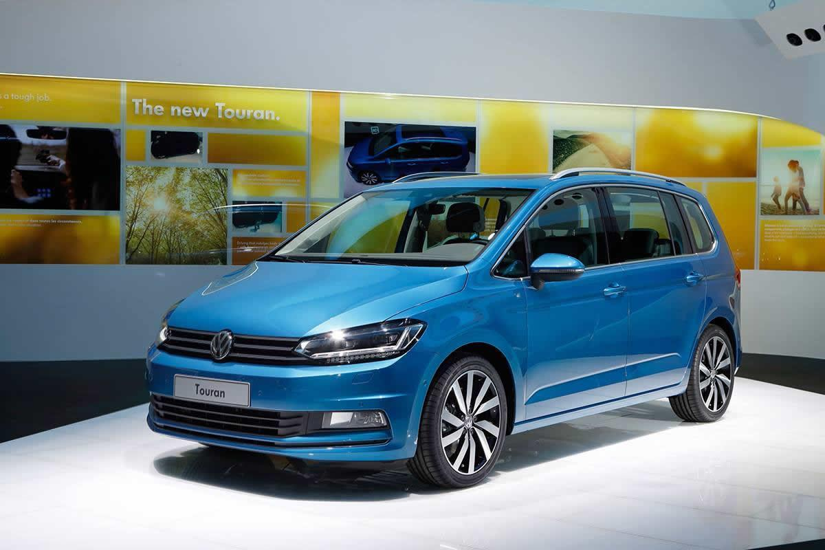 Volkswagen Touran 2015 Geneva