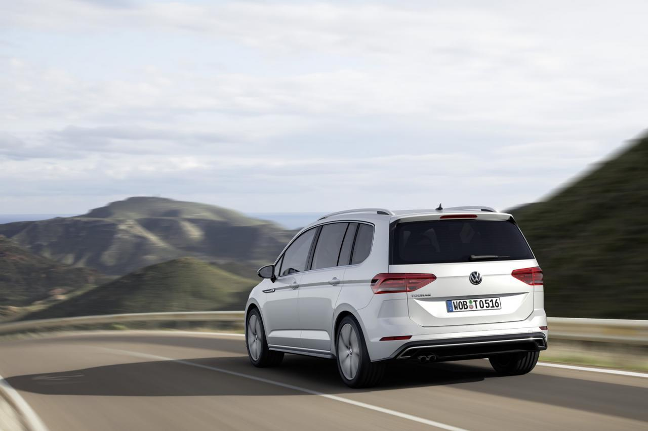 Volkswagen Touran R-Design 2015