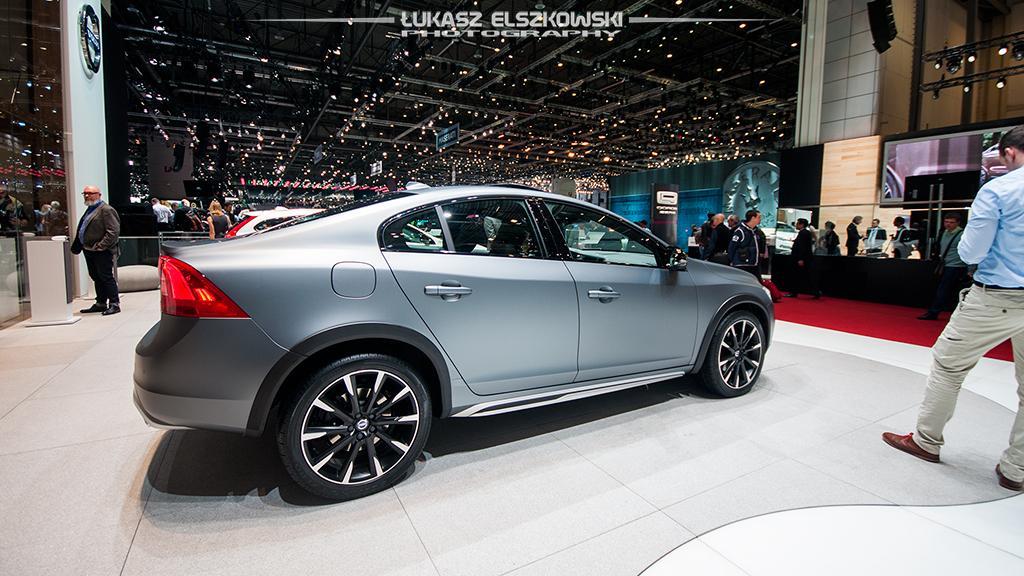 Volvo S60 Cross Country Genewa 2015