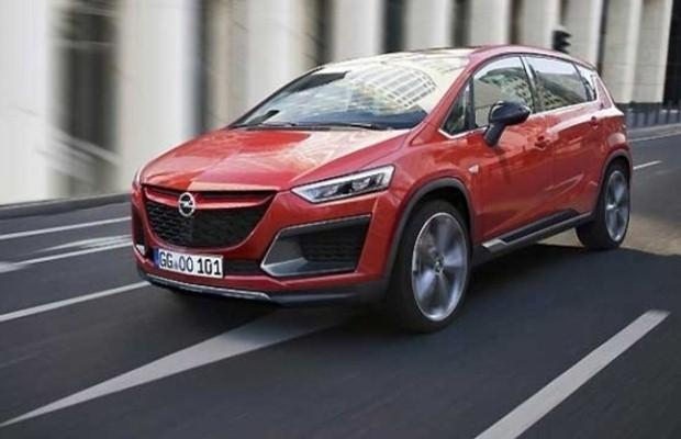 Opel Zafira 2016 render