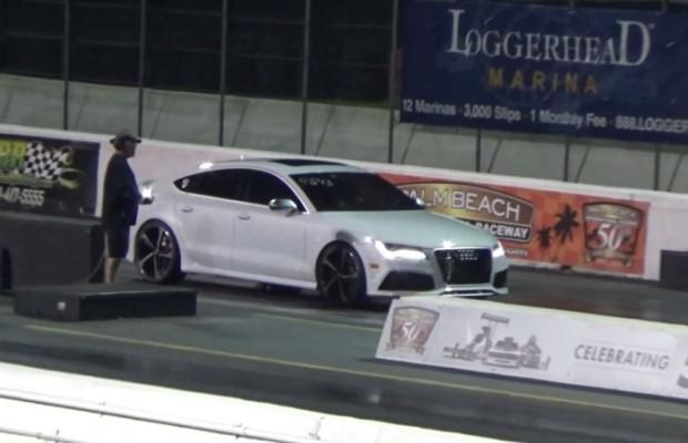 Audi RS7 drag