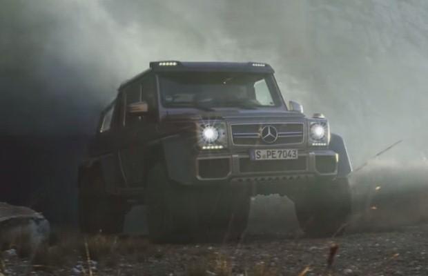 Mercedes G63 AMG 6x6 Toscana