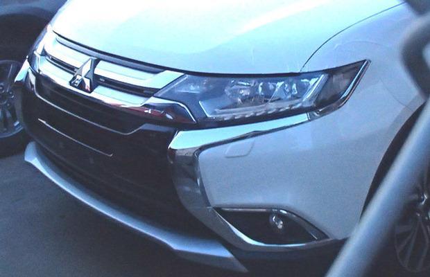 Mitsubishi Outlander facelift 2016