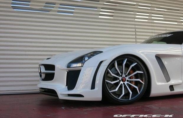 Mercedes SLS Forgiato Wheels