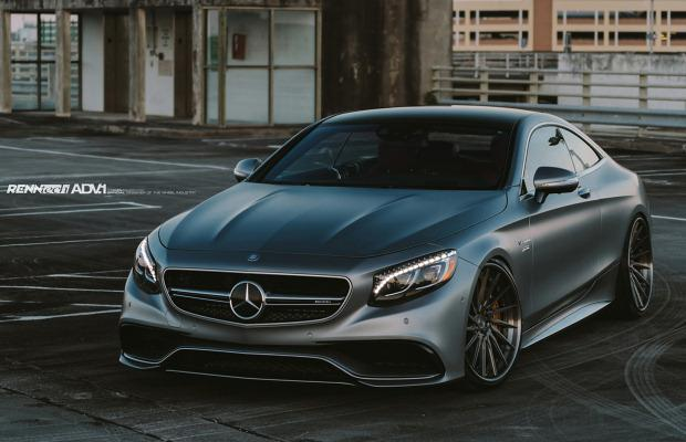 Mercedes S63 AMG Coupe tuning RENNtech