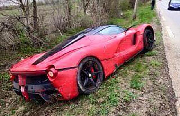 Ferrari LaFerrari Wypadek